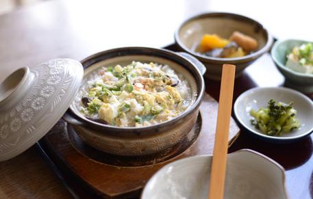 おばちゃん食堂・雑炊|鹿児島・ホテル・温泉