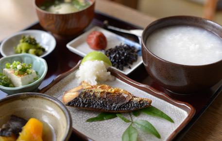 おばちゃん食堂・朝粥|鹿児島・ホテル・温泉